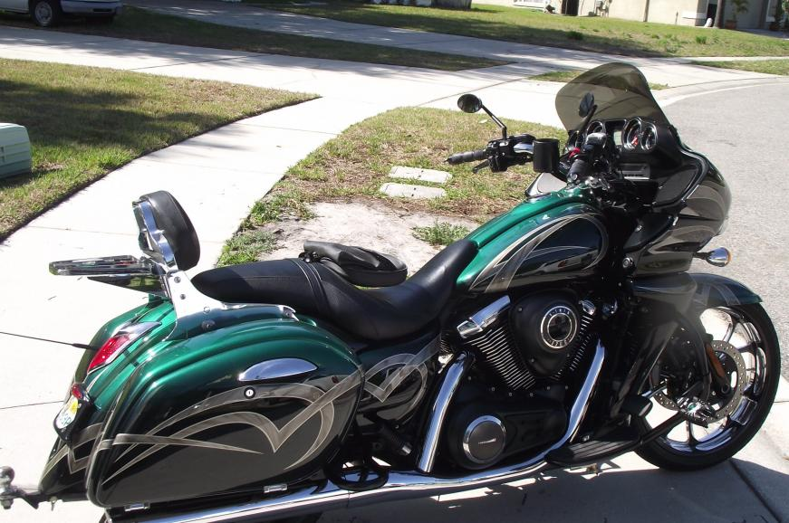 Our April 2013 Botm Winner Tstorey823 Kawasaki Vulcan