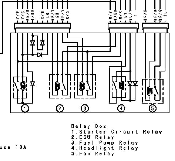 Wiring Diagram 2006 Kawasaki Nomad. Harness. Auto Wiring