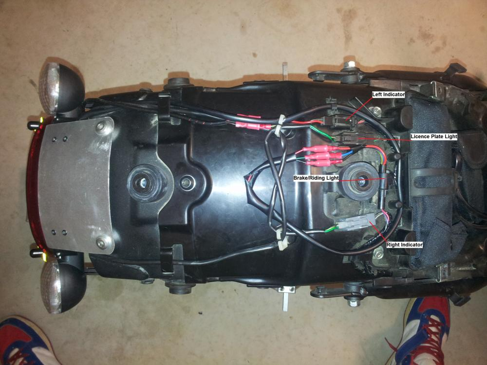 Wiring Colors for rear turn signal/ke light - Kawasaki Vulcan ... on