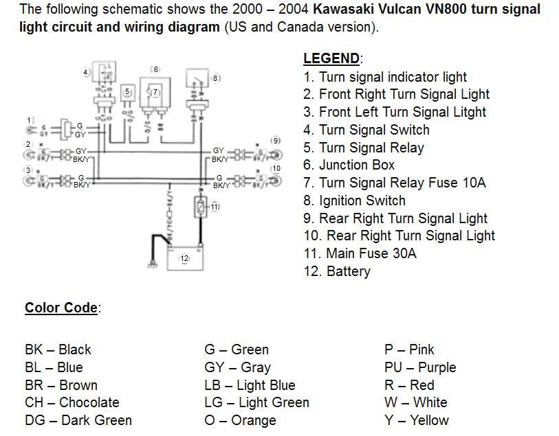Turn Signal Wiring Kawasaki Vulcan Forum